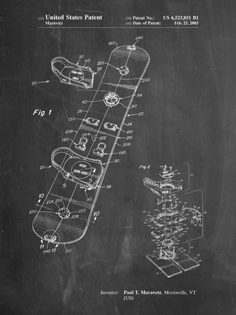 Burton Touring Snowboard Patent