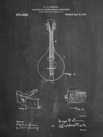 Gibson Mandolin Tailpiece Patent