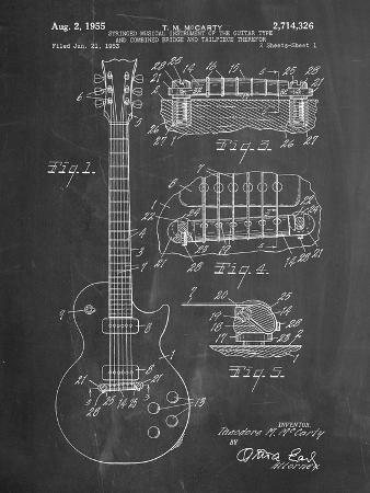 Gibson Les Paul Guitar Patent