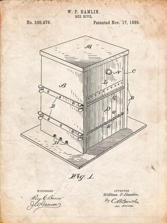 Bee Hive Exterior Patent