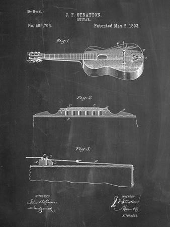 Stratton and Son Acoustic Guitar Patent