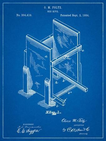 Bee Hive Frames Patent