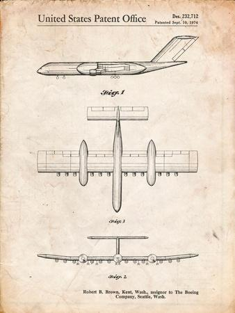 Boeing RC-1 Airplane Concept Patent