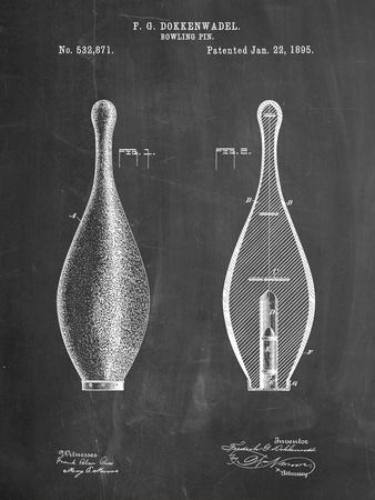 Vintage Bowling Pin Patent