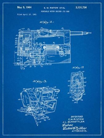 Milwaukee Portable Jig Saw Patent