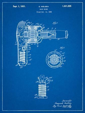 Vintage Hair Dryer Patent