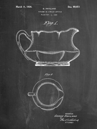 Haviland Basin Pitcher Patent