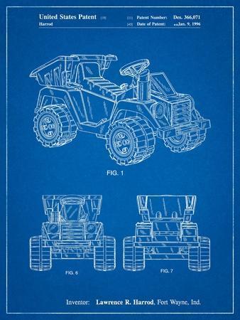 Mattel Kids Dump Truck Patent