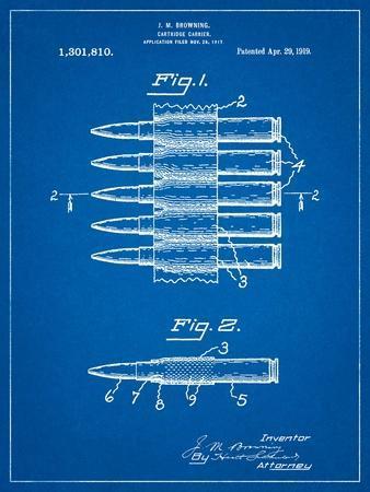Machine Gun Bullet Carrier Belt Patent