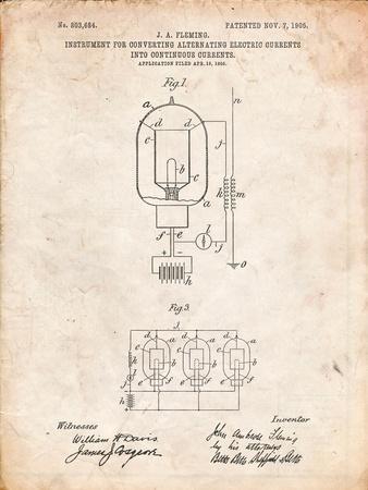 Fleming Valve Patent