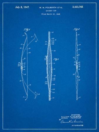 Bill Folberth Archery Bow Patent