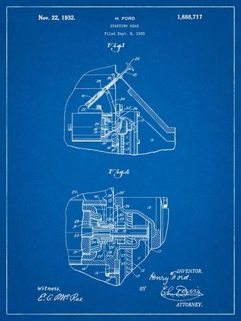 Ford Car Starter Patent