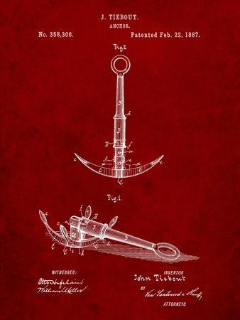 Folding Grapnel Anchor Patent
