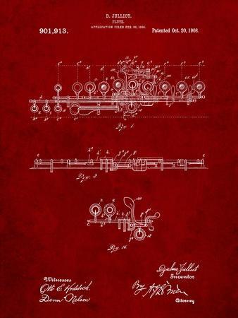 Flute 1908 Patent