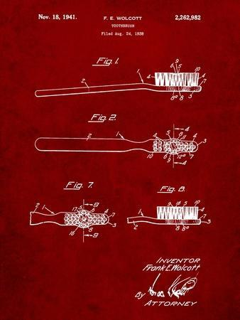 First Toothbrush Patent