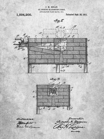 Blacksmith Forge Patent