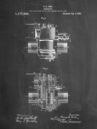 Ford Carburetor 1916 Patent