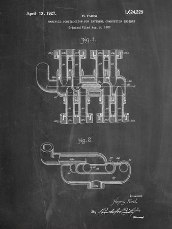 Ford Car Manifold 1920 Patent