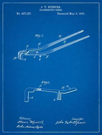 Blacksmith Tongs Patent