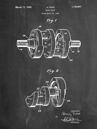 Henry Ford Crank Shaft 1926