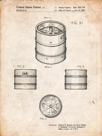 Miller Beer Keg Patent