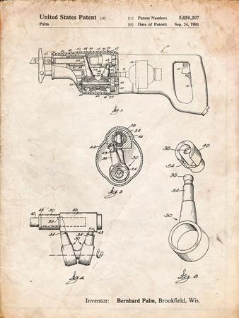 Milwaukee Reciprocating Saw Patent