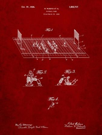 Football Board Game Patent