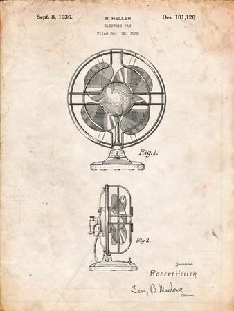 Table Fan Patent