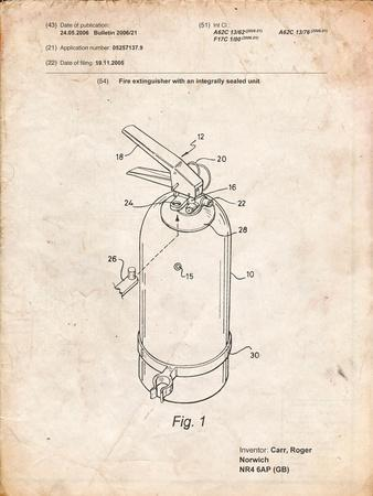 Modern Fire Extinguisher Patent