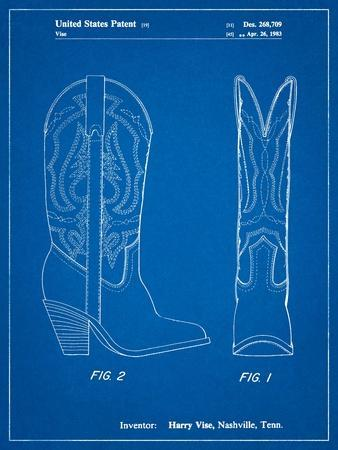 Texas Boot Company 1983 Cowboy Boots Patent