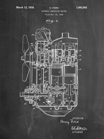 Ford Internal Combustion Engine Patent