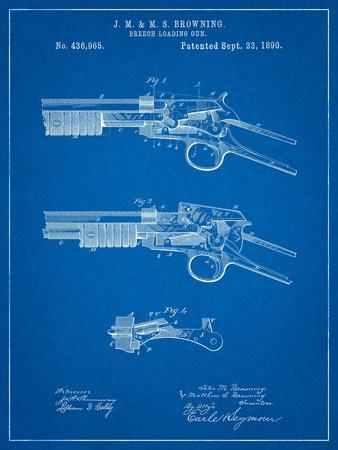 Winchester Model 1890 Gun Patent