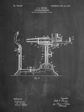 Ophthalmoscope Patent