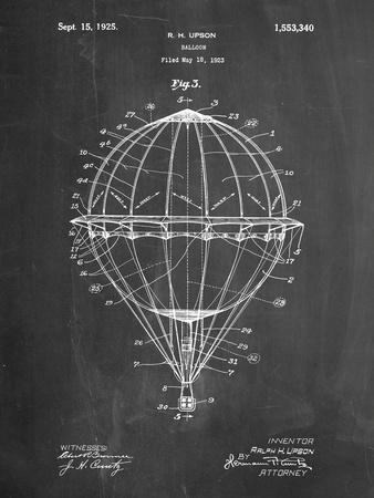 Hot Air Balloon 1923 Patent