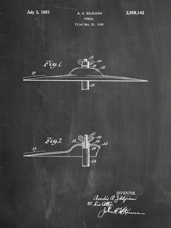 Zildjian Crash & Ride Cymbal Patent