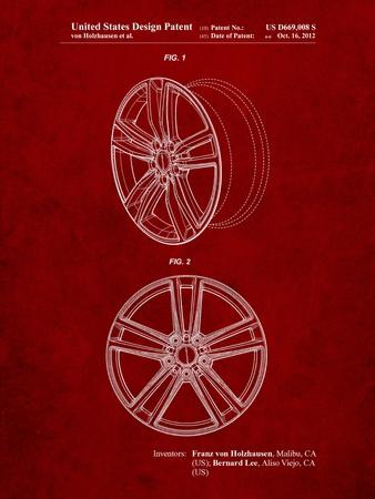 Tesla Car Wheels Patent