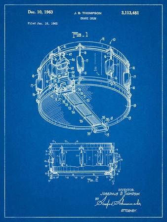 Rogers Snare Drum Patent