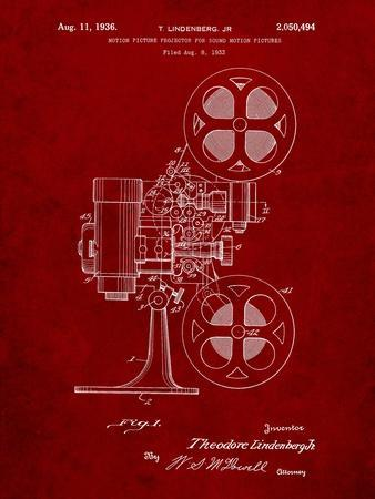 Movie Projector 1933 Patent