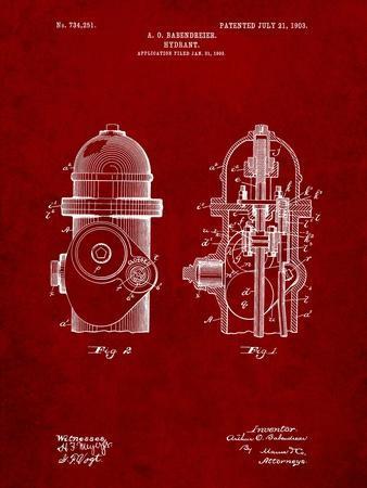 Fire Hydrant 1903 Patent