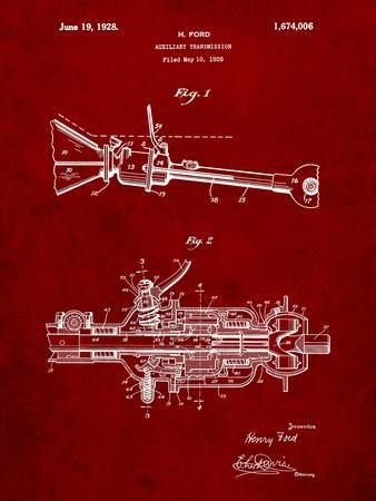 Ford Auxiliary Transmission Patent