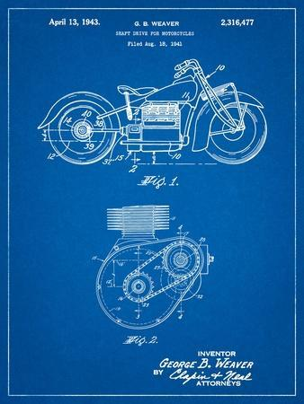 Indian Motorcycle Drive Shaft Patent