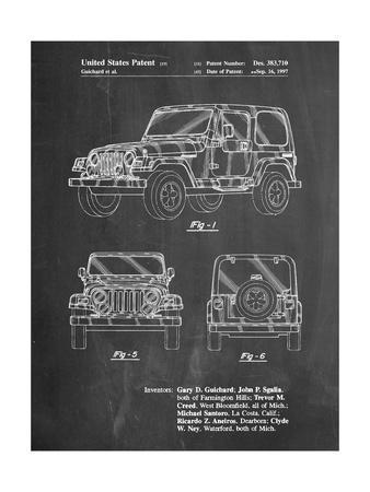 Jeep Wrangler 1997 Patent