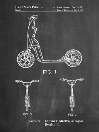 Scooter Patent Art