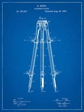 Antique Extension Tripod Patent