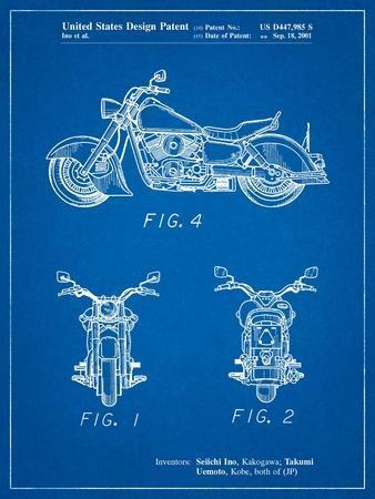 Kawasaki Motorcycle Patent