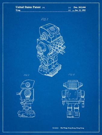 Dynamic Fighter Toy Robot 1982 Patent