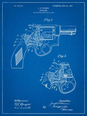 Smith and Wesson Revolver Pistol