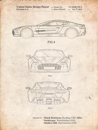 Aston Martin One-77 Patent