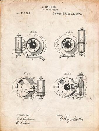 Asbury Frictionless Camera Shutter Patent