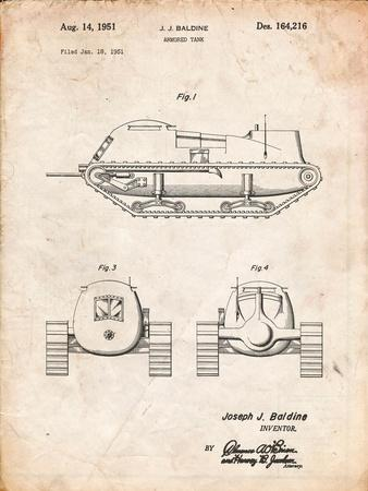 Armored Tank Patent